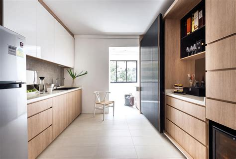 kitchen door design singapore a hdb four roomer that looks better than a condo home 4701