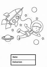 Coloring Astronaut Suit Space Boy Young Drawing Bathing Pages Hazmat Printable Getcolorings Getdrawings sketch template