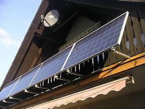 Mini Solaranlage Balkon : solaranlage kundenfotos fassade solar ~ Orissabook.com Haus und Dekorationen