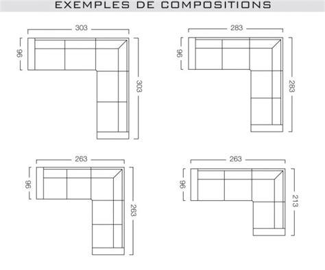 dimension canapé 3 places dimension canape d angle