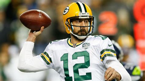 aaron rodgers  packers      hopes  making playoffs nfl sporting news
