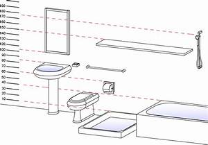 sanitary ware and accessories standard heights With standard height of a bathroom sink