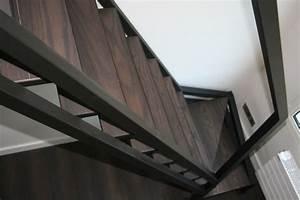 Echelle D Escalier : escalier droit mezzanine finition parquet ehi ~ Premium-room.com Idées de Décoration