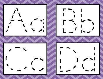 alphabet tracing cards  images alphabet tracing
