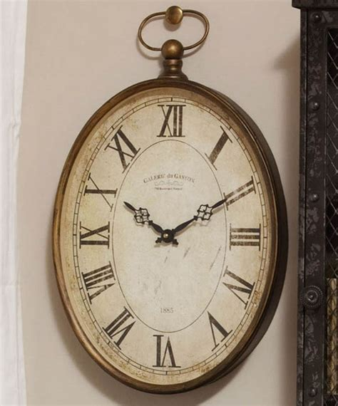 20 top gallery of oval vintage 20 39 39 oval wall clock modern wall clocks