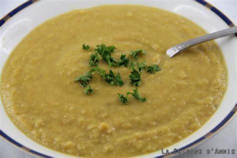 recette soupe de pois cassés la cuisine familiale un