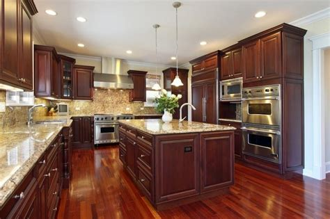 kitchens with cabinets and wood floors laminate 41eastflooring