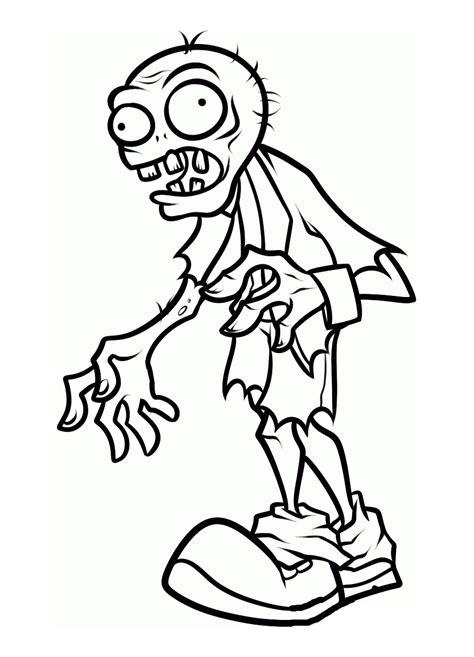 zombi  personajes paginas  colorear