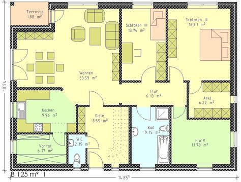 grundriss bungalow 120 qm grundriss bungalow 120 qm wohnideen