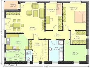 Bungalow Grundriss 130 Qm : grundriss bungalow 120 qm wohnideen ~ Orissabook.com Haus und Dekorationen