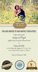 Email wedding invitation on behance for Email wedding invitations video