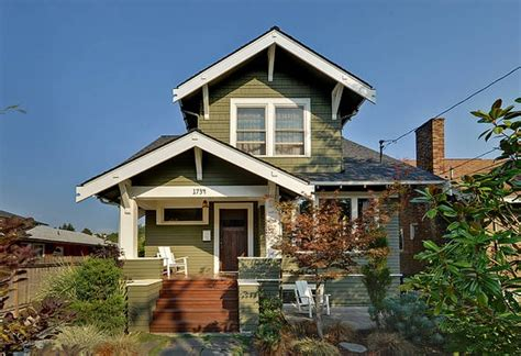 Craftsman Home, Cool Roof Angle....