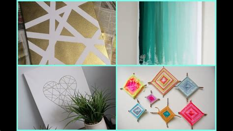 diy dorm room decor wall art youtube