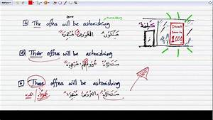 Constructing Arabic Sentences 13 3  Examples In The Future