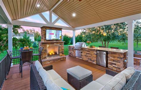 modern outdoor kitchen ideas  designs diy motive