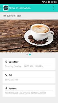 Downtown peoria's first ever traditional style coffee shop. Mobile APP Loyal Rewards for Coffee Shops