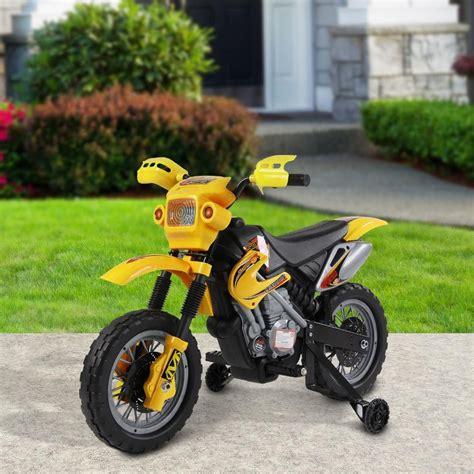 Se non avete nei vostri paraggi un negozio o uno store specializzato nella vendita di accessori per moto niente paura, sul web è possibile ordinare. Moto cross elettrica per bambini con rotelle, giallo ...