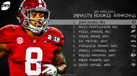 fantasy football rookie rankings fantasy football
