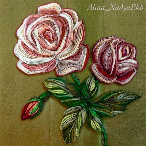 quilling rose quilling flowers quilling quilling patterns