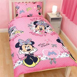 Minnie Maus Bettwäsche : minnie mouse biancheria da letto minnie mouse rosa 75x50 135x200cm ebay ~ Orissabook.com Haus und Dekorationen
