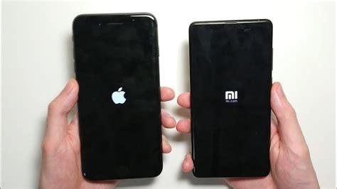 xiaomi mi mix 2 vs iphone 8 plus speed test