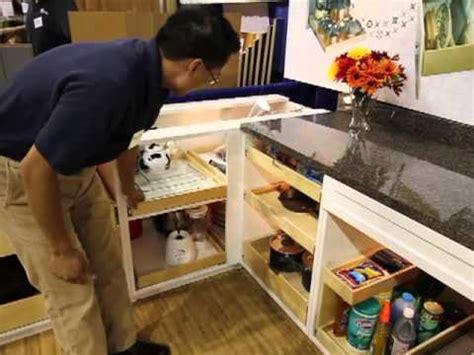 shelfgenie  seattle homeshow booth  pantry blind