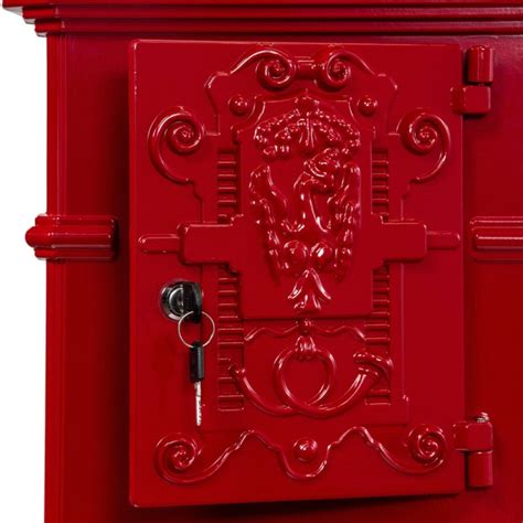 siege de velo boite aux lettres colonne pilier en fonte 102 5 cm