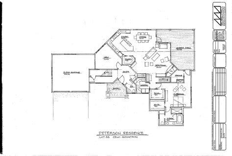 architect plan the cove at celo mountain architectural design
