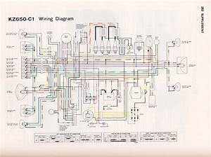 1977 Kz650 Wiring Diagram