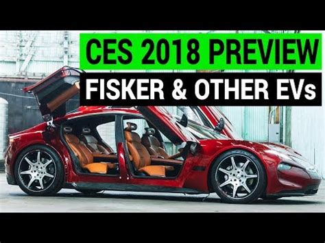 Other Electric Cars by Fisker Emotion Other Electric Cars At Ces 2018