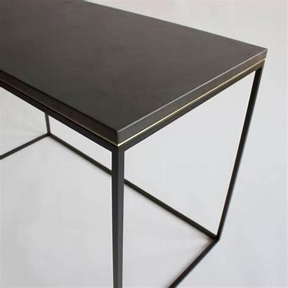 Writing Concrete Desk Console Minimalist Modern Want
