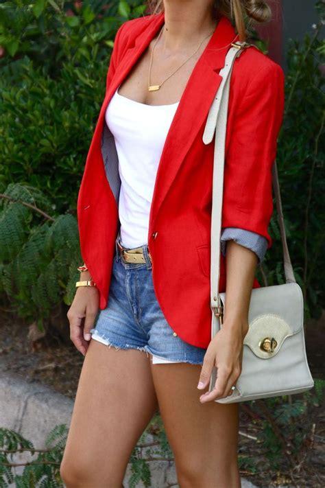 Brighten Summer Blazer Dressing Ideas for Trendy Girls u2013 Designers Outfits Collection