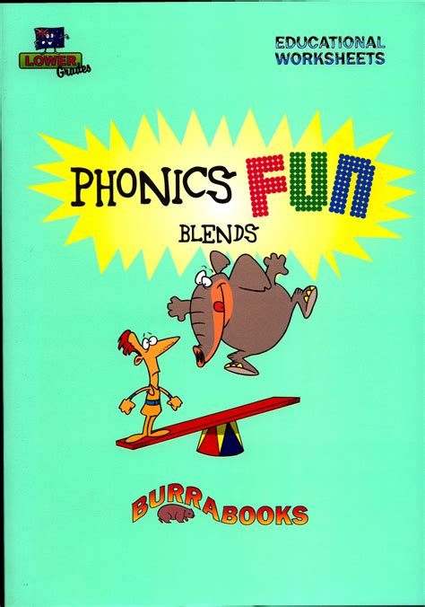 phonics fun blends educational worksheets books