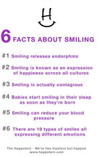 6 smile facts in honor of power of a smile day the happsters