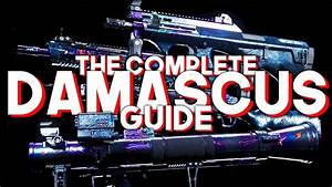 The Complete Damascus Guide For Modern Warfare
