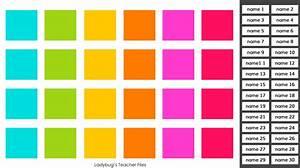 A Google Drive Seating Chart  U2013 Ladybug U0026 39 S Teacher Files