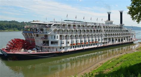 4 Day Mississippi River Boat Cruise by American Itinerary Schedule Current Position