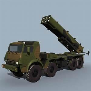 max 9a52-4 bm-30 smerch rockets