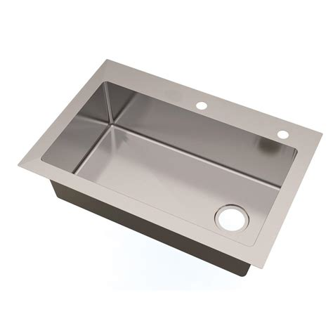 glacier bay all in one kitchen sink glacier bay all in one dual mount small radius stainless 9224