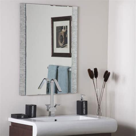 molten frameless bathroom mirror dcg stores