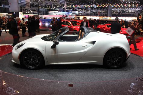 geneva  alfa romeo  spider  truth  cars