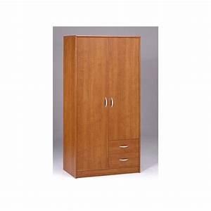 Petite Armoire De Rangement : armoire de rangement 2 portes 2 tiroirs bibana achat ~ Dailycaller-alerts.com Idées de Décoration