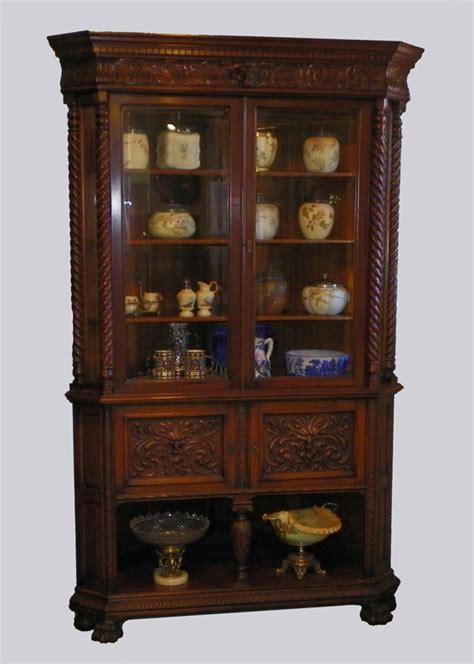 antique oak corner china cabinet bargain s antiques 187 archive antique 7482
