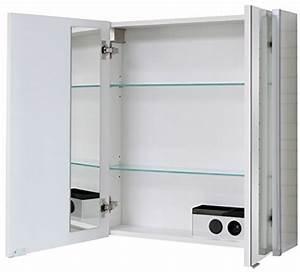 Spiegelschrank 60 Cm Breit : fackelmann led spiegelschrank 2trg 60 cm breit ~ Eleganceandgraceweddings.com Haus und Dekorationen