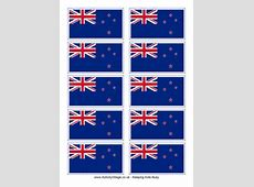 New Zealand Flag Printables For Kids