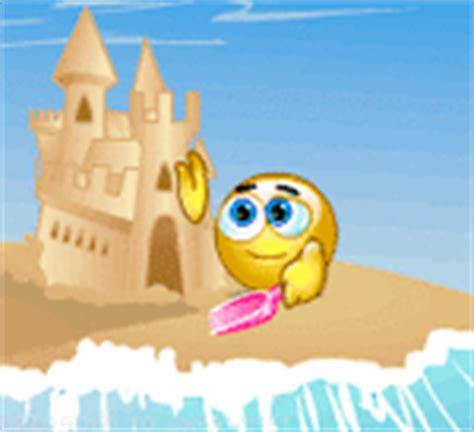 sand castle emoticon emoticons  smileys  facebook