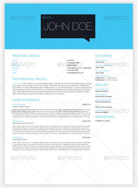 Cheap Resume Templates by 28 Creative Cheap Resume Templates