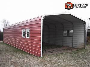 Affordable metal carports and garges carportcom for Affordable steel buildings