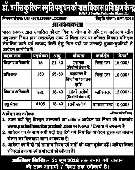 pashudhan prasar adhikari recruitment   animal