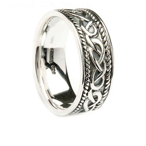 incredible sterling silver celtic wedding bands matvuk com